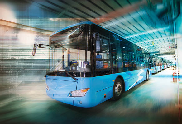 Charging Infrastructure for Battery-Electric Buses